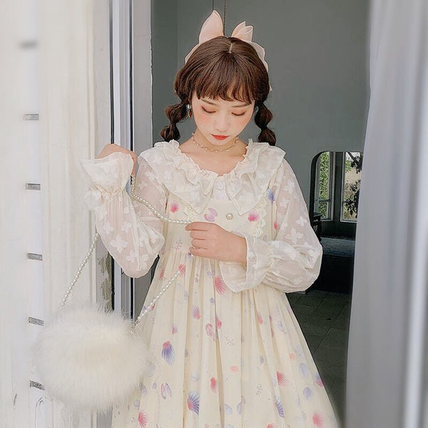 Seashell Princess Kawaii Jfashion JSK Lolita Dress