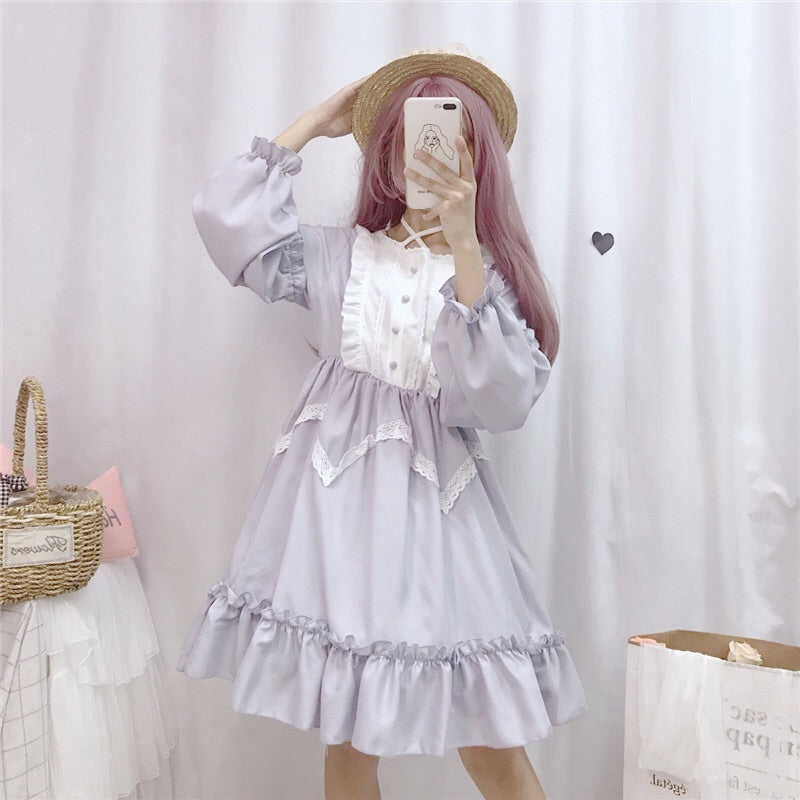 Vanessa Belle Long Sleeve Lolita Dress