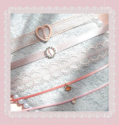 {FREE with Purchase of $25+} Soft Aesthetic Ribbon Choker