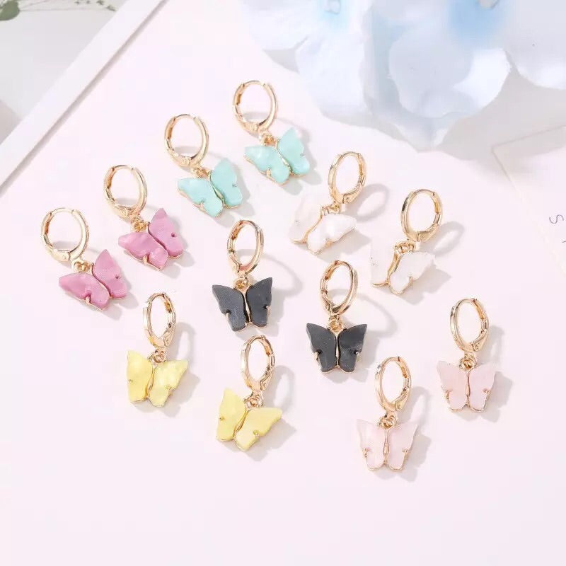 {FREE with Purchase of $25+} Butterfly Earrings
