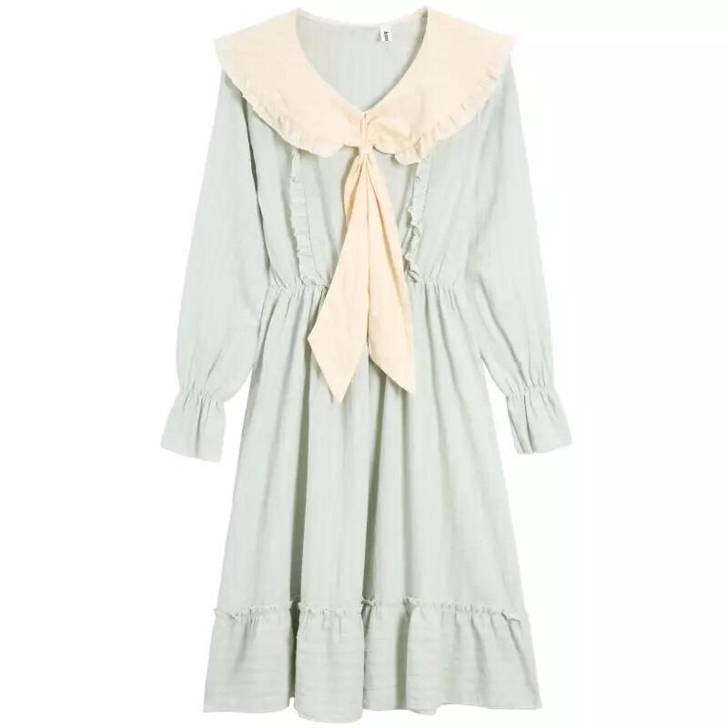 MagicForest Mori Girl Cotton Linen Dress