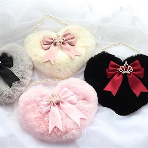 Kawaii Princess Heart-shaped Lolita Bag