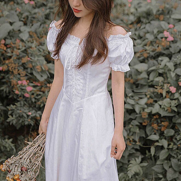 Karina Dove Vintage-Style Princess Midi Dress