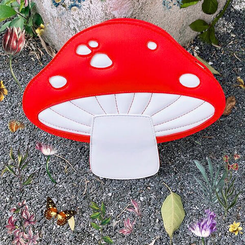 Kawaii Mushroom Fairytale Shoulder Bag