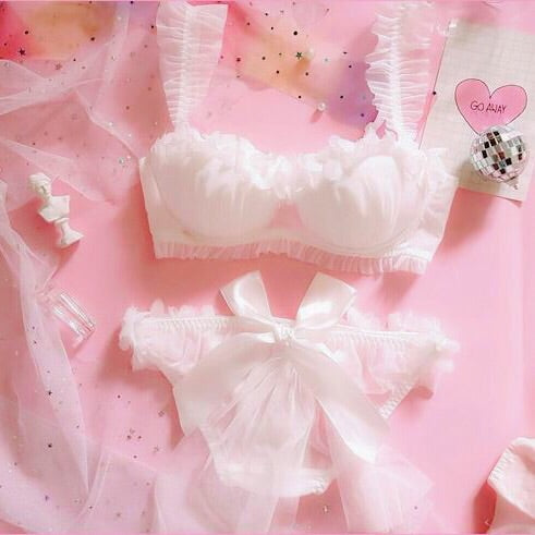 Angel Kawaiii Lolita Nymphet Lingerie 2-piece Set