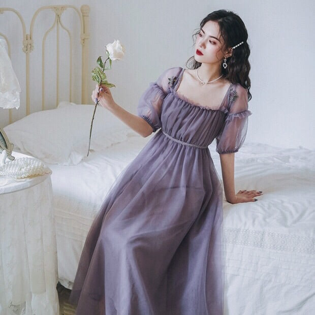 Pandora Romantic Vintage-style Spring Fairy Dress