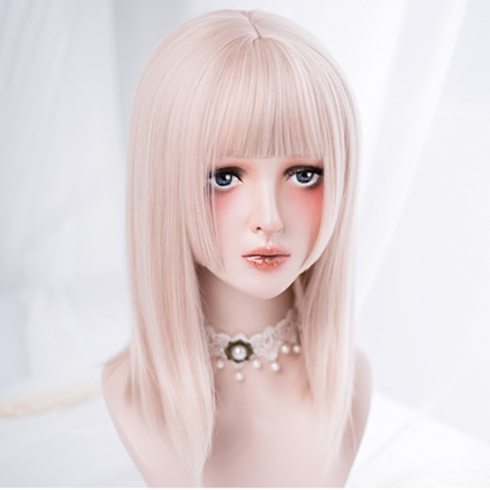 Antique Ash Straight Lolita Wig