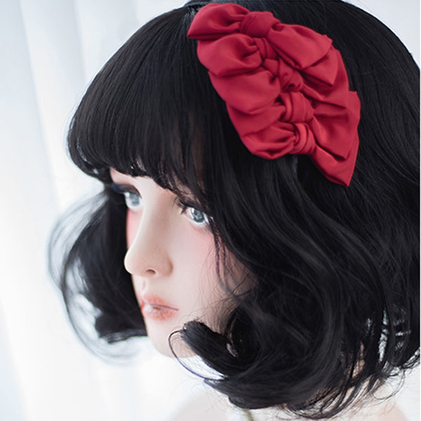 Dark Chocolate Cosplay Lolita Wig with Bangs