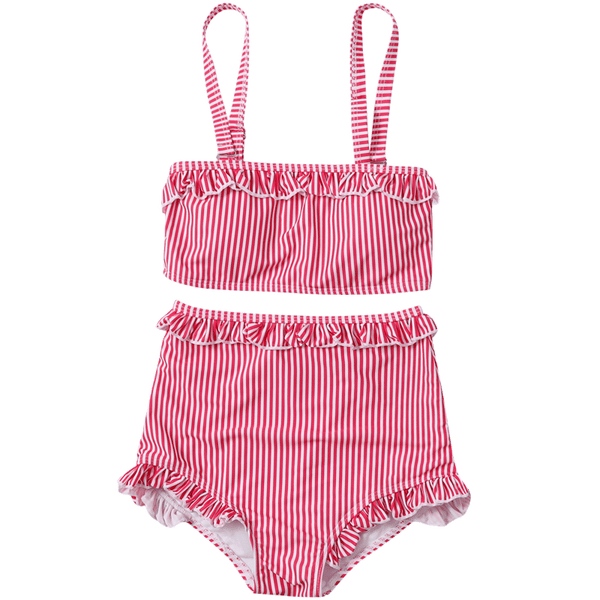 Striped 2-piece Nymphet Swimsuit