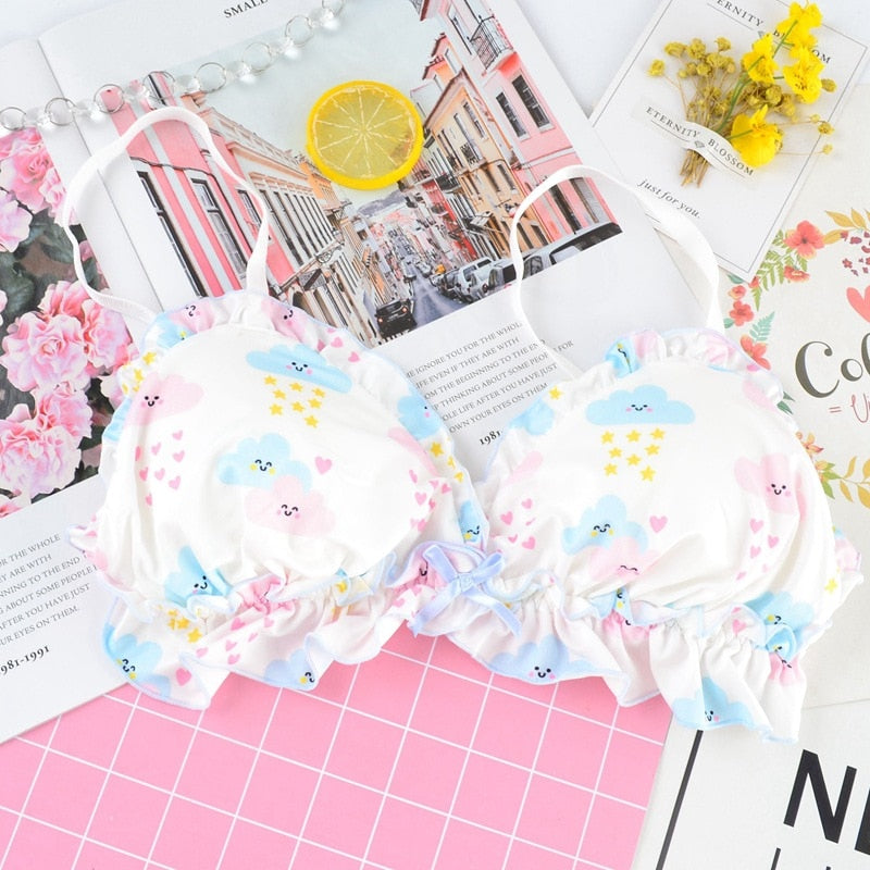 2-piece Kawaii Clouds Lolita Lingerie Set