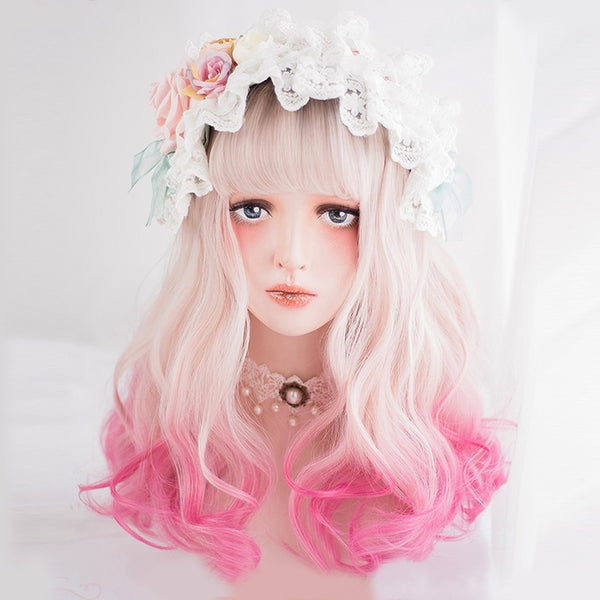 Cotton Candy Ombre Lolita Wig