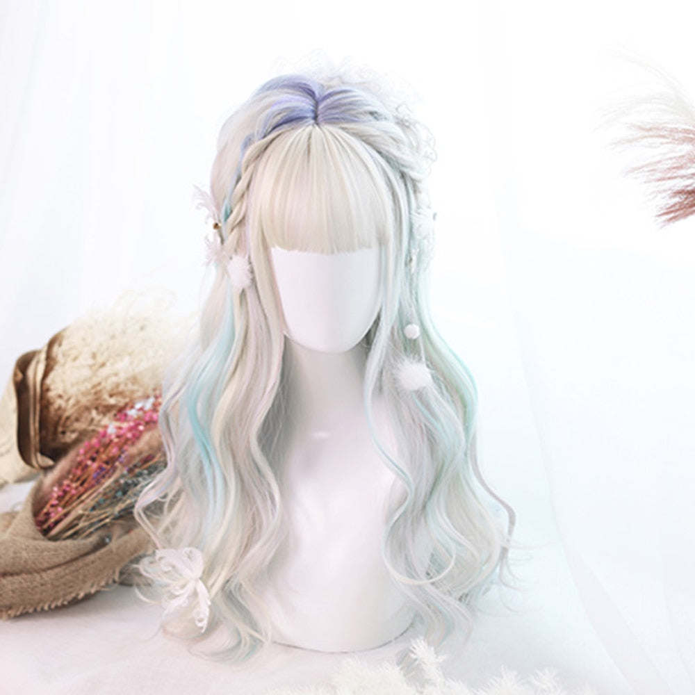 Mermaid Memories Lolita Wig With Bangs