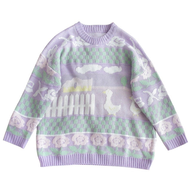 Pastel Kawaii Aesthetic Fairy Kei Sweater