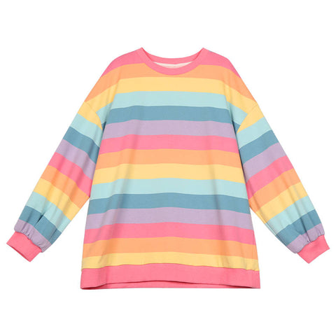 Pastel Rainbow Kawaii Aesthetic Top