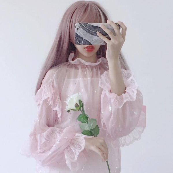 Kawaii Fairy Princess Lolita Chiffon Blouse