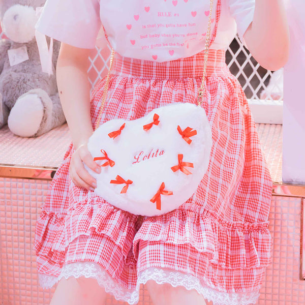 Lolita Heart-shaped Nymphet Fashion Bag