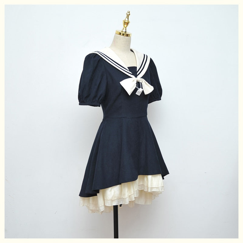 Polly Sailor Vintage Style Dolly Dress