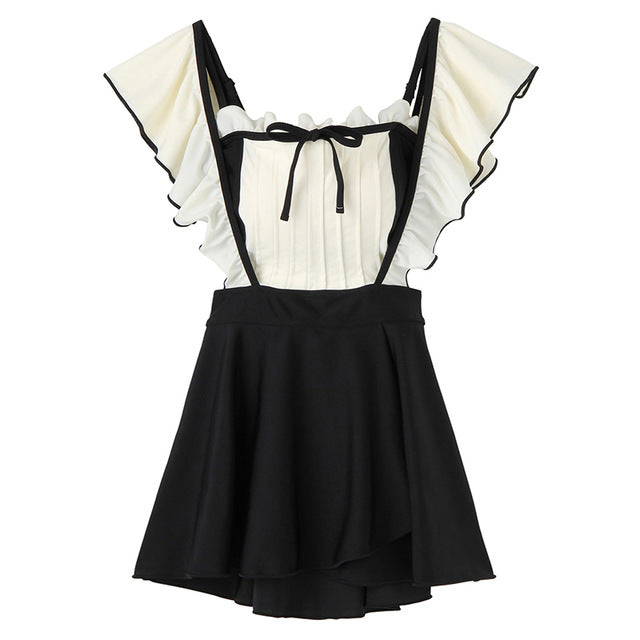 Nora 2-Piece Ruffle Nymphet Lolita Swimsuit