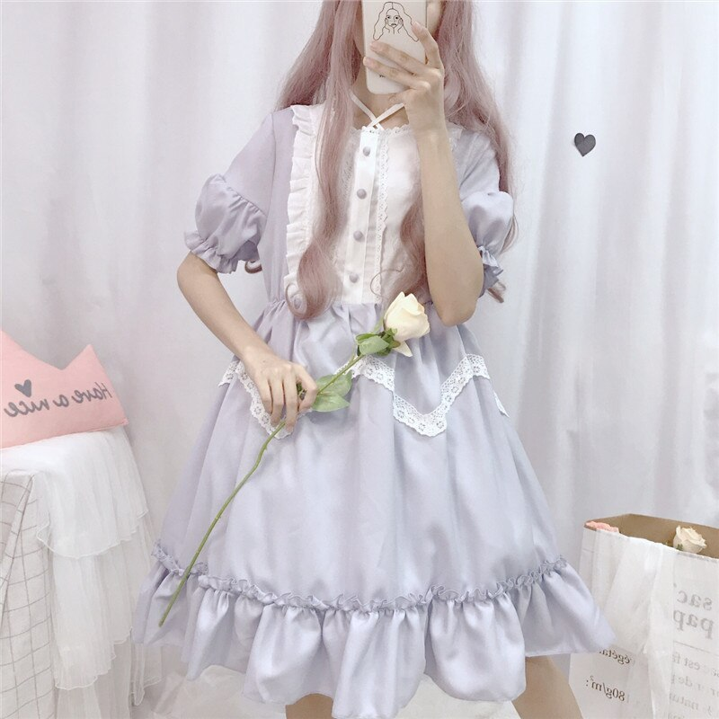 Vanessa Belle Short Sleeve Lolita Dress