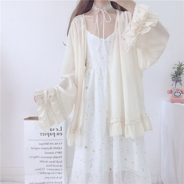 Ophelia Starpetal Fairy Dress/Cardigan