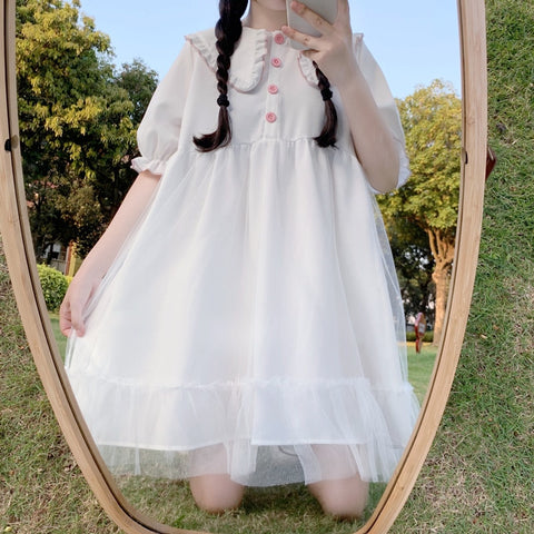 Erissa Kawaii Princess Tulle Dolly Dress