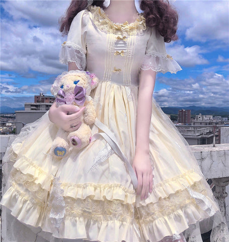 Sunbeam Kawaii Princess Japanese Lolita Tea Party Dress