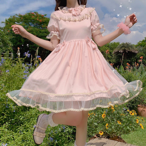 Kawaii Princess Soft Girl Lolita Dolly Dress