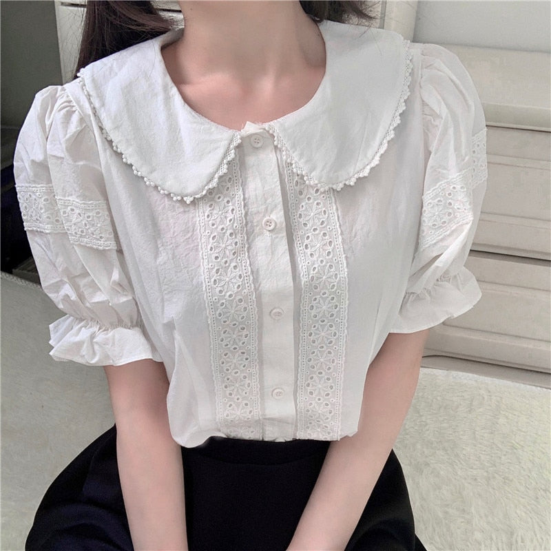 Jfashion Kawaii Lolita Short Sleeve Shirt