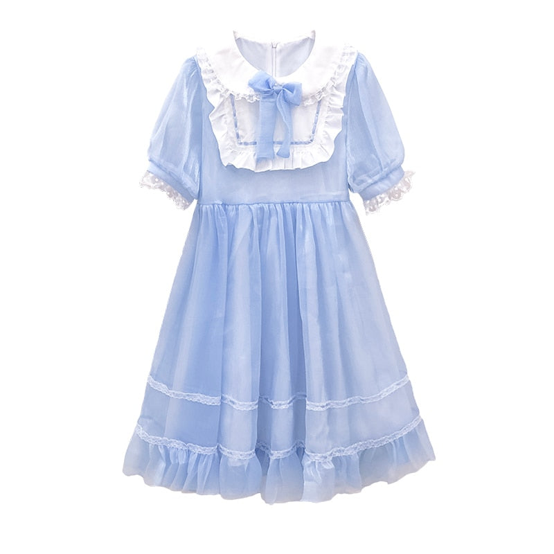 Sivelle Kawaii Princess Japanese Lolita Tea Party Dolly Dress