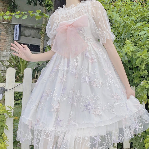 Magical Star Kawaii Princess Sleeveless JSK Lolita Dress