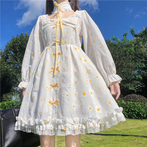 Daisy Lolita Style Kawaii Princess Dolly Dress