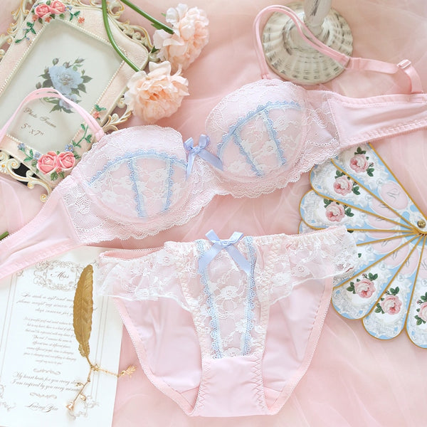 Heaven Sent Sweet Lolita Nymphet Lingerie Set