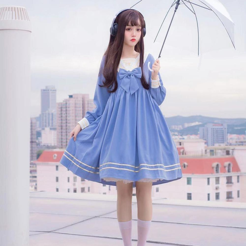 Eve Sailorette Kawaii Aesthetic Sailor Lolita Dress