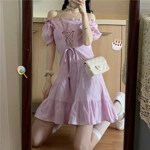 Maryberry Casual Kawaii Nymphette Mini Dress