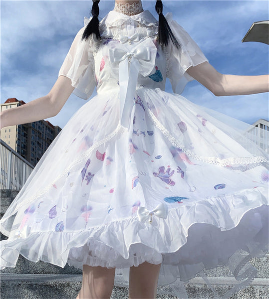 Dreamy Tulle Kawaii Princess JSK Lolita Dress