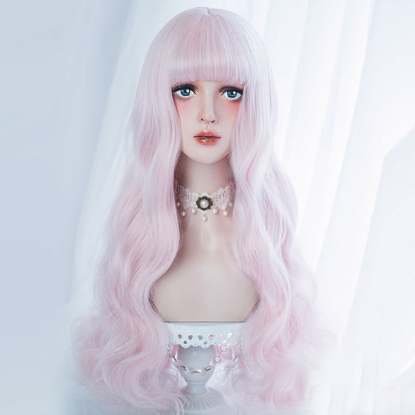 Frosted Macaroon Long Lolita Wig