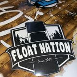 Float Nation Sticker Pack