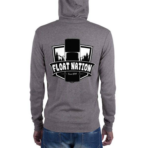Float Nation Shield Zip-Up Hoodie