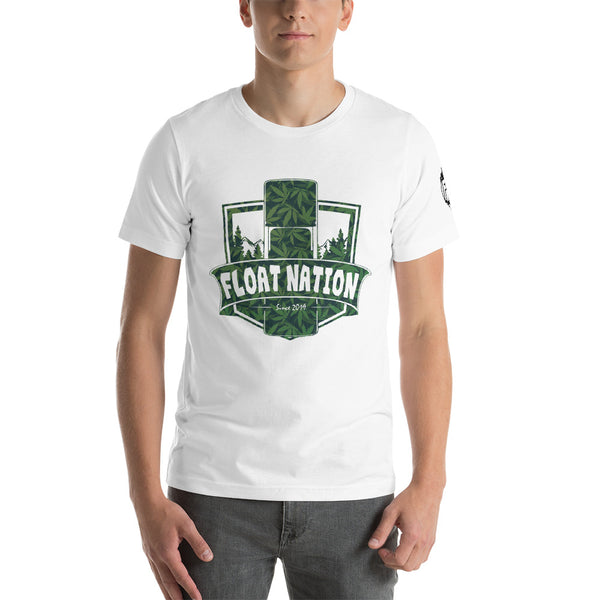 Cannabis Float Shield Tee