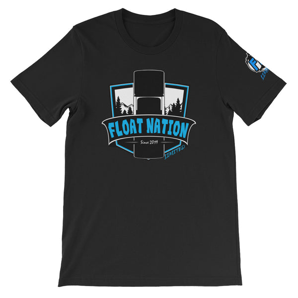 [LIMITED BLUE] Float Nation Shield Tee