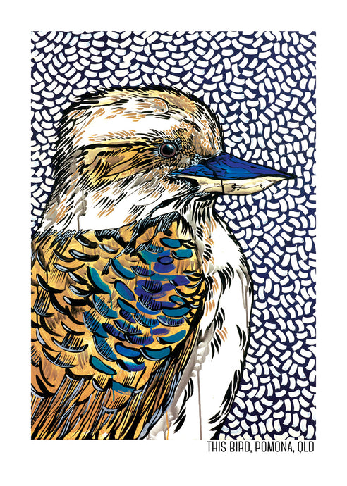 Tea Towel - Kookaburra