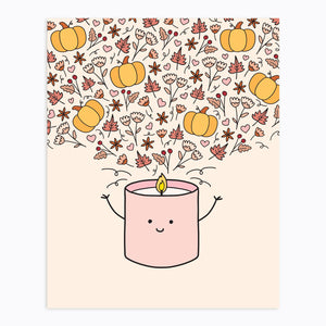 The-Rosy-Redhead-Art-Print-Fall-Candle-Cute-Printable