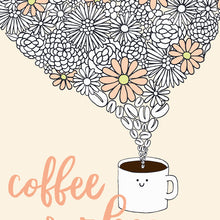 Load image into Gallery viewer, The-Rosy-Redhead-Print-8.5x11-Coffee