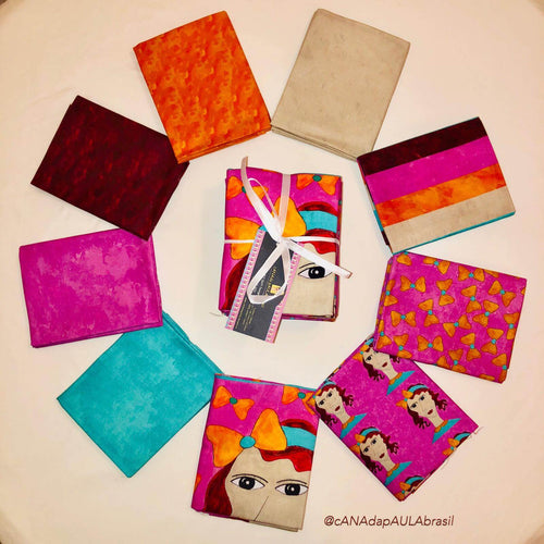 FQAB - Fat Quarter Bundle - Fancy Lady - Adriana