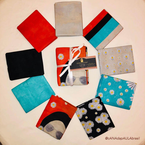 FQFSB - Fat Quarter Bundle - Fancy Lady - Fuji San