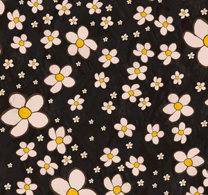 FSB807 - Sabrina's Fancy Lady Collection -  black flowers