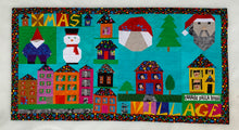 Load image into Gallery viewer, Xmas Village Quilt