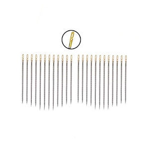 Self-Threading Needles - 24 Pcs Big Eye Needle