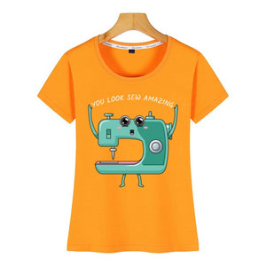 Tops T-Shirt  - Sewing Machine