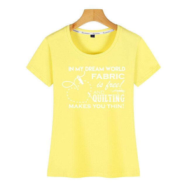 Tops T-Shirt - In my dream world fabric is free